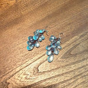 Express Blue Earrings